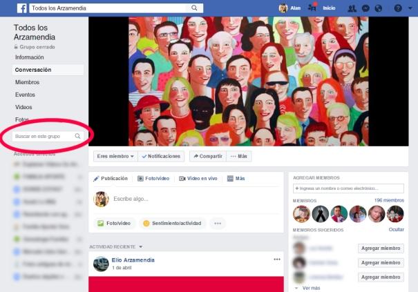 Buscador GEN Facebook